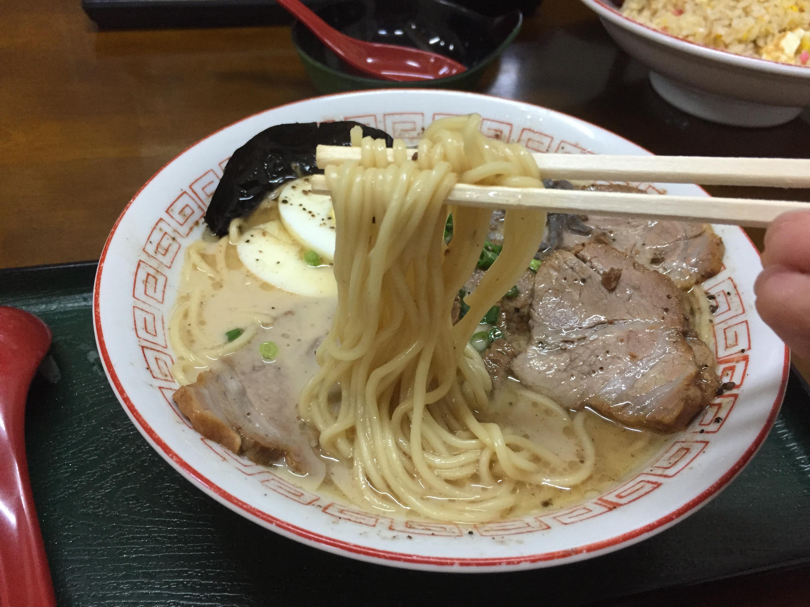 麺の雰囲気